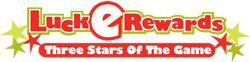 NC Lottery LuckERewards Three Stars of the Game