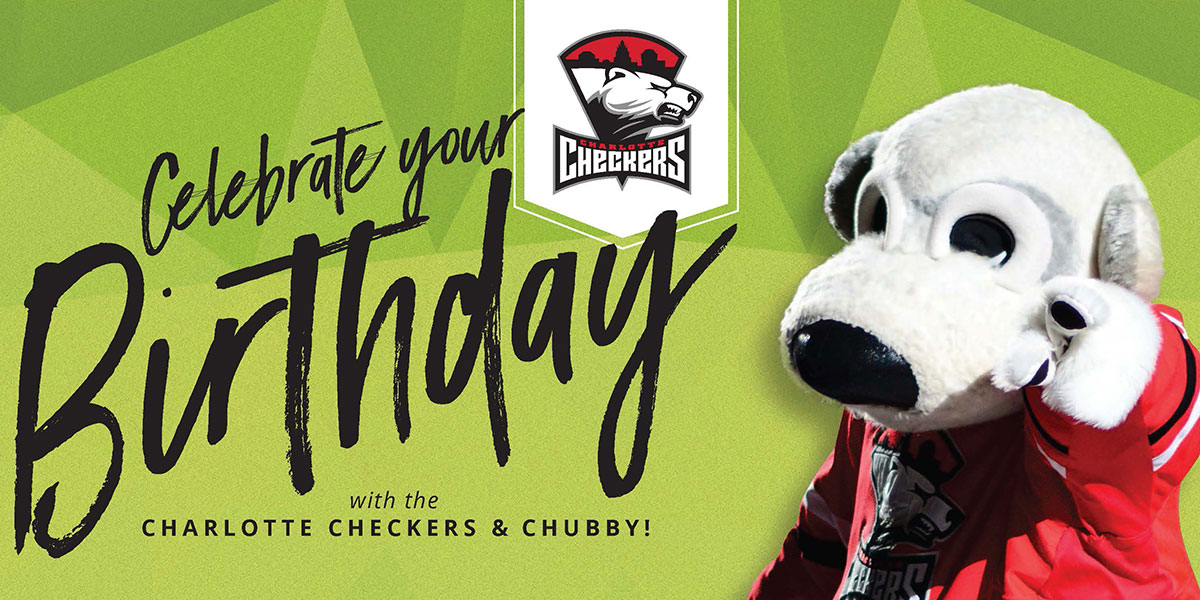 Charlotte Checkers birthday parties