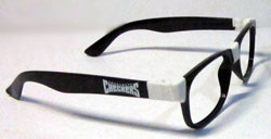Charlotte Checkers Hanson Brother glasses giveaway