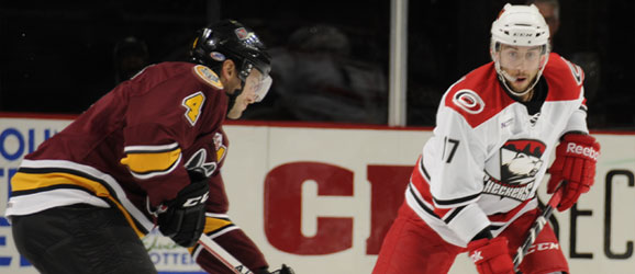 Charlotte Checkers vs. Chicago Wolves