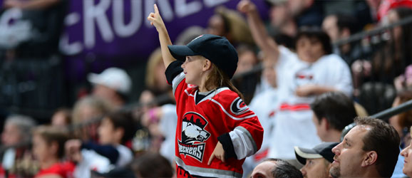 Charlotte Checkers Fan of the Month Contest