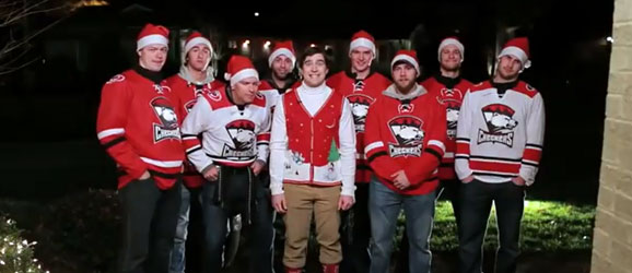 Happy Holidays from the Charlotte Checkers