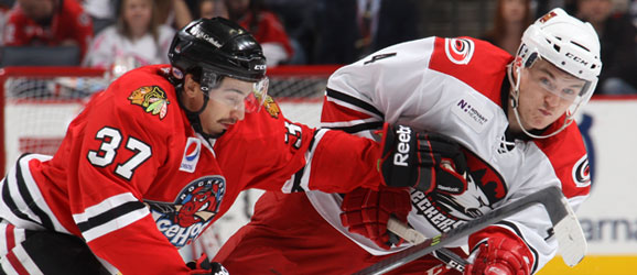Charlotte Checkers Rockford IceHogs
