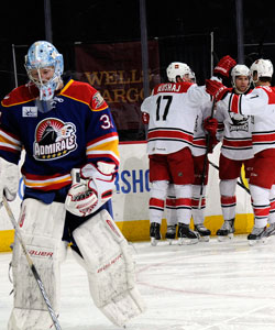 Charlotte Checkers vs. Norfolk Admirals