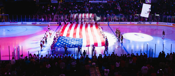 Salute to Heroes Hockey Game